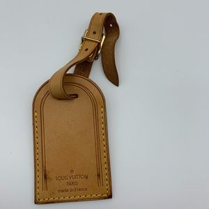 💯Auth Louis Vuitton Luggage Tag